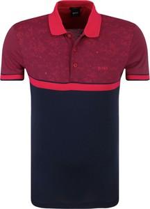 T-shirt Hugo Boss w stylu casual z krótkim rękawem z bawełny