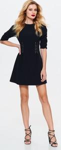 Czarna sukienka Top Secret mini
