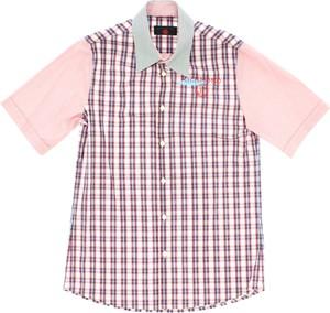 Różowa koszula dziecięca john richmond