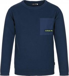 Granatowy sweter Endo