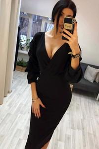 Czarna sukienka Ivet.pl midi