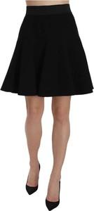 Czarna spódnica Dolce & Gabbana z wełny