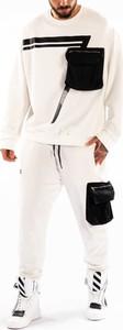 Spodnie ubierzsie.com z tkaniny w sportowym stylu