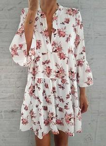 Sukienka Cikelly w stylu boho oversize mini