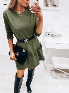 Zielona sukienka magmac.pl