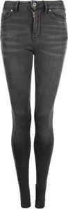 Czarne jeansy Tommy Hilfiger z tkaniny