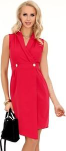 Pomarańczowa sukienka MERRIBEL z tkaniny