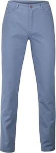 Niebieskie chinosy Ezreal z bawełny w stylu casual