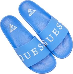 Niebieskie buty letnie męskie Guess