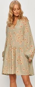 Sukienka Only z długim rękawem mini z bawełny