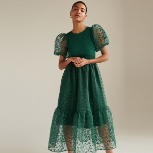 Zielona sukienka Reserved maxi