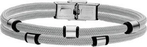 Manoki BA733S szara bransoletka męska beads