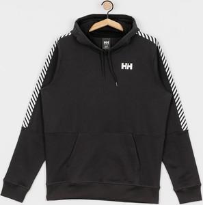 Czarna bluza Helly Hansen z bawełny