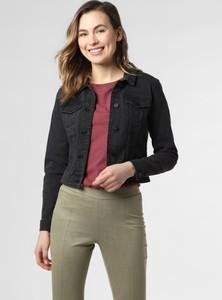 Czarna kurtka Noisy May w stylu casual z jeansu krótka