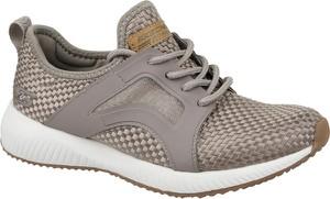 Buty sportowe Skechers w młodzieżowym stylu z płaską podeszwą sznurowane