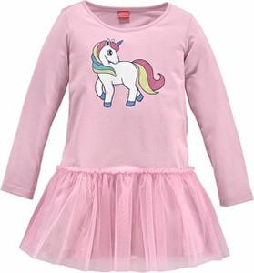 Różowa sukienka dziewczęca ARIZONA