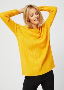 Żółty sweter moodo.pl