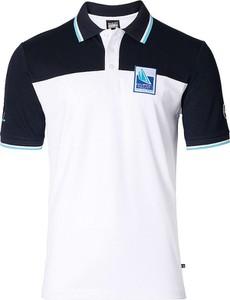 T-shirt Marinepool z bawełny z krótkim rękawem