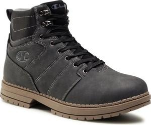 Buty zimowe Champion sznurowane z nubuku