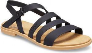 Sandały Crocs w stylu casual z klamrami z płaską podeszwą