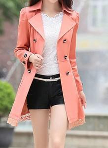Różowy płaszcz Arilook
