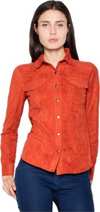 Czerwona koszula Venaton w stylu casual