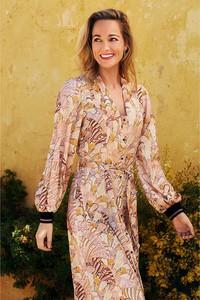 Sukienka Tramontana z długim rękawem