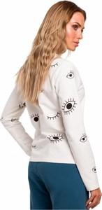 Bluzka MOE z długim rękawem z okrągłym dekoltem
