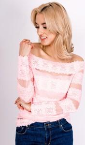 Różowa bluzka Zoio hiszpanka