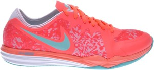 Różowe buty sportowe Nike dual fusion z płaską podeszwą