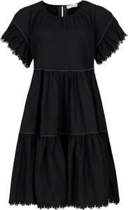 Sukienka Silvian Heach z okrągłym dekoltem w stylu casual