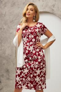 Sukienka Risca maxi z tkaniny