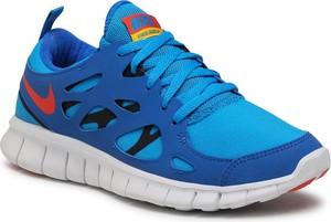 Buty sportowe Nike sznurowane ze skóry ekologicznej z płaską podeszwą