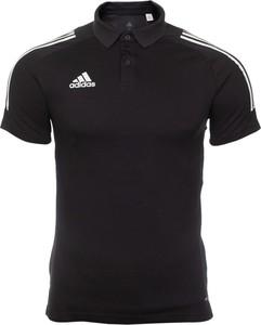 Koszulka polo Adidas z krótkim rękawem z bawełny