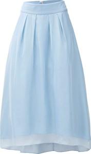 Niebieska spódnica Heine w stylu casual midi
