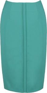 Zielona spódnica Fokus midi