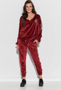 Czerwony dres Numinou z bawełny