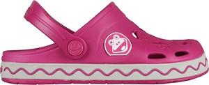 Różowe buty dziecięce letnie Coqui