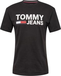 T-shirt Tommy Jeans z tkaniny