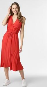 Czerwona sukienka Ralph Lauren kopertowa
