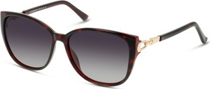 Brązowe okulary damskie Solaris-polarized