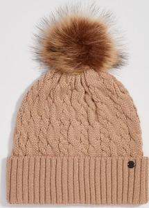 Brązowa czapka Sinsay