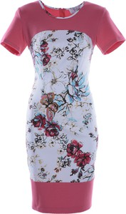 Sukienka Fokus z tkaniny midi