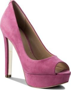 Szpilki guess - heali2 flhea1 sue07 pink
