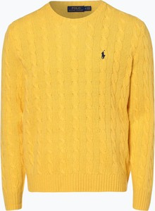 Żółty sweter POLO RALPH LAUREN w stylu casual