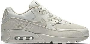 Buty sportowe Nike sznurowane air max 90 ze skóry