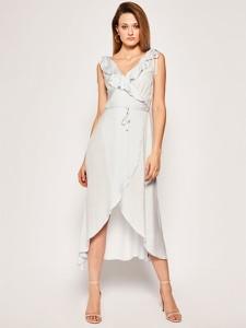 Sukienka Guess midi bez rękawów