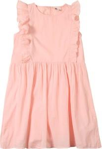 Różowa sukienka dziewczęca Kids Only z bawełny
