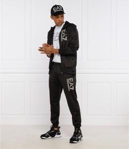 Czarny dres Emporio Armani w sportowym stylu
