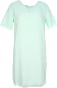 Niebieska sukienka MOLLY BRACKEN mini z krótkim rękawem